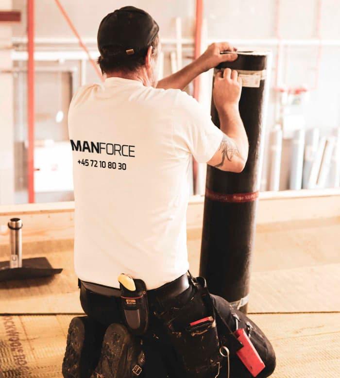 manforce arbejder